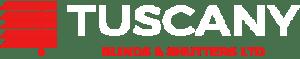 tuscany negative logo